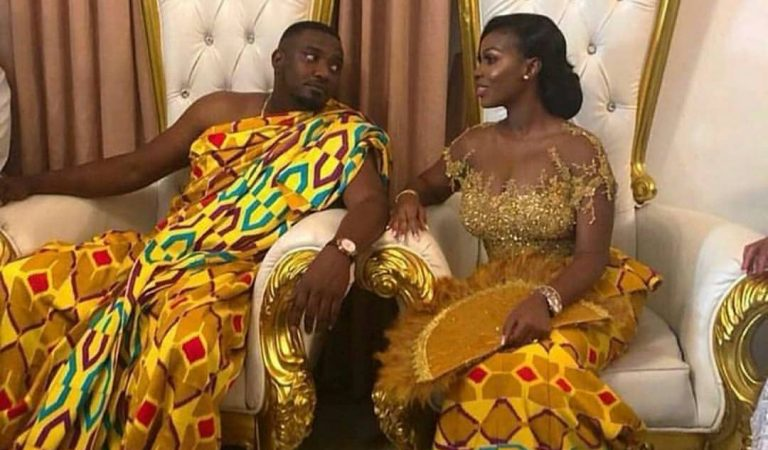 First Exclusive Photos & Videos From John Dumelo's Tradional Wedding