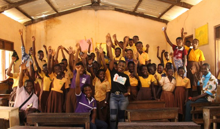 Ahoufe Patricia (SHE POWER) Empowers Girls of Gomoa Dampase against Sexual Abuse