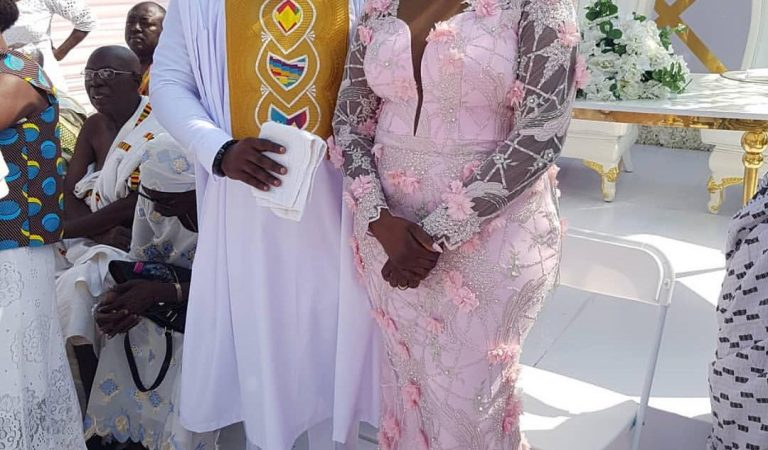 First Photos And Videos From Bibi Bright's Marriage Ceremony