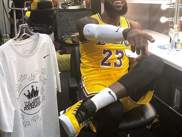 PHOTOS: LeBron James Pictured In LA Lakers Jersey Ahead Of New Season In California