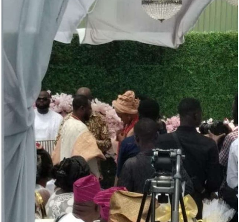 First photo from the wedding of Ghanaian singer Becca and Ice Prince's former manager,  Tobi Sanni Daniel in Ghana