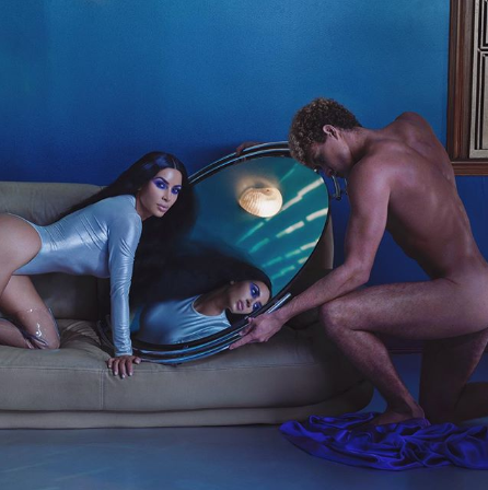 Kim Kardashian shares another naked photo to promote her makeup brand