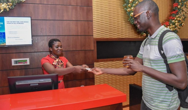Just the Christmas break he needed… Ameyaw Debrah's 'staycation' at the Accra Marriott Hotel