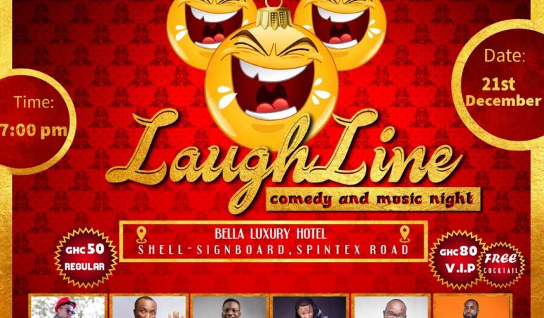 Christmas Edition: Laughline comedy show goes corporate