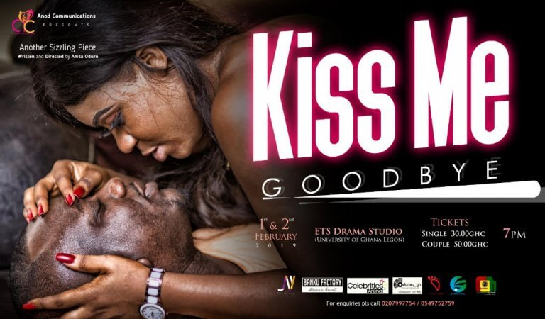 """""""Kiss Me Goodbye"""" by Anita Oduro To Premiere On February 1st and 2nd"""