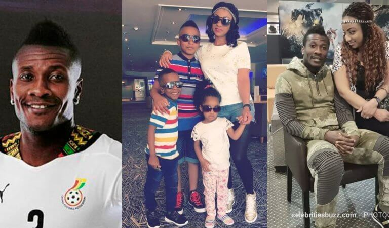 Asamoah Gyan and Gifty Gyan's DNA Test Results out! ALL 3 kids are his!