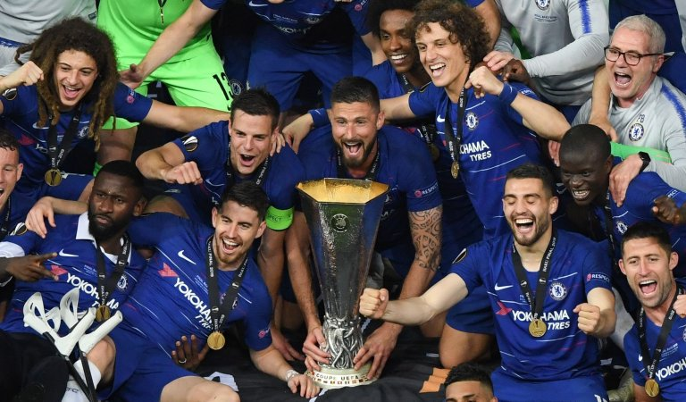 Chelsea beat Arsenal 4:1 to win Europa League