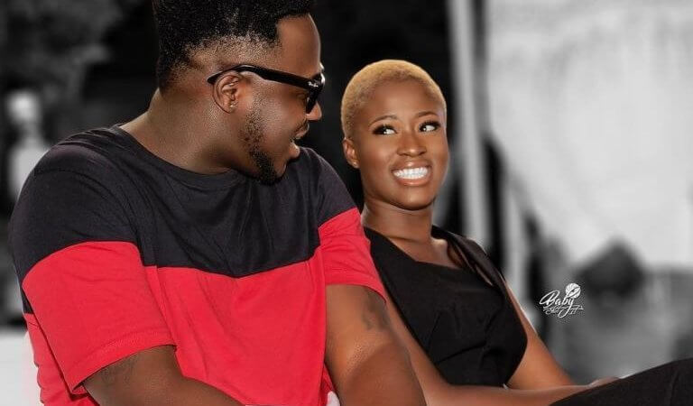 'I'm Glad That I Met You, Fella Makafui Showers Praises On Medikal